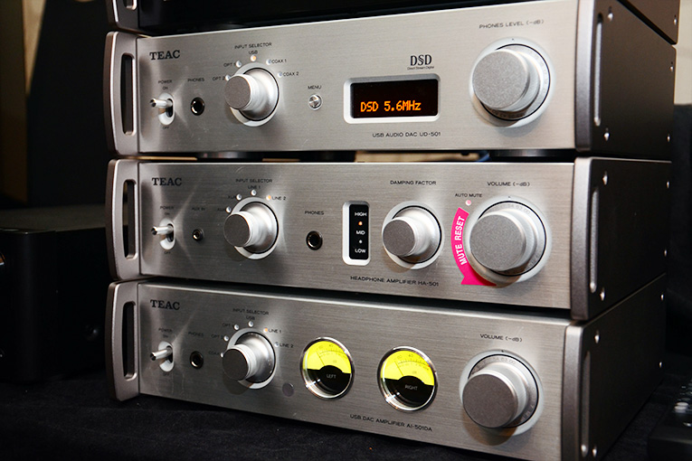 TEAC stack